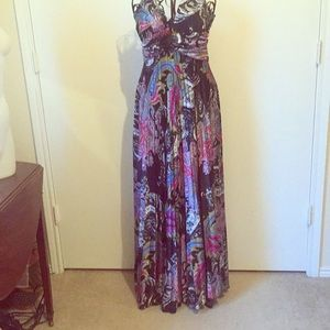 Speechless maxi dress